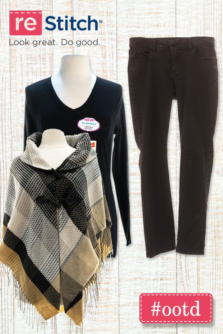 Online Thrift Store Clothes >> The Perfect Ootd For The Pumpkin Patch Shop Restitch To
