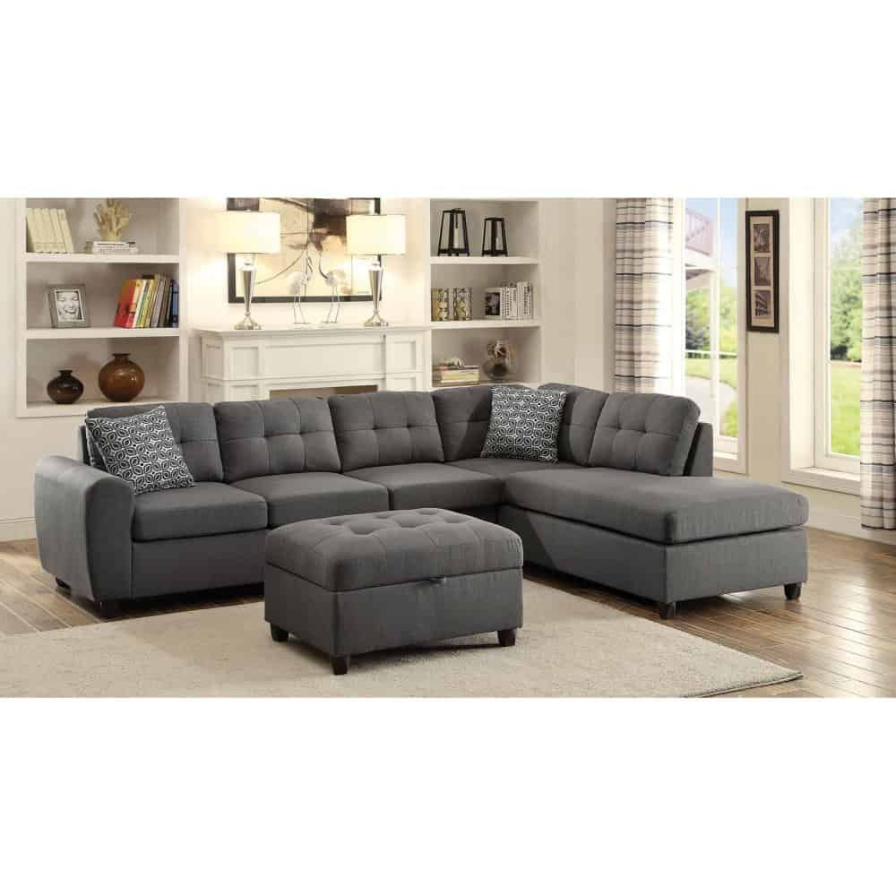 12 Cheap Sectionals Under 1000 In Gray Sectional Sofas Living