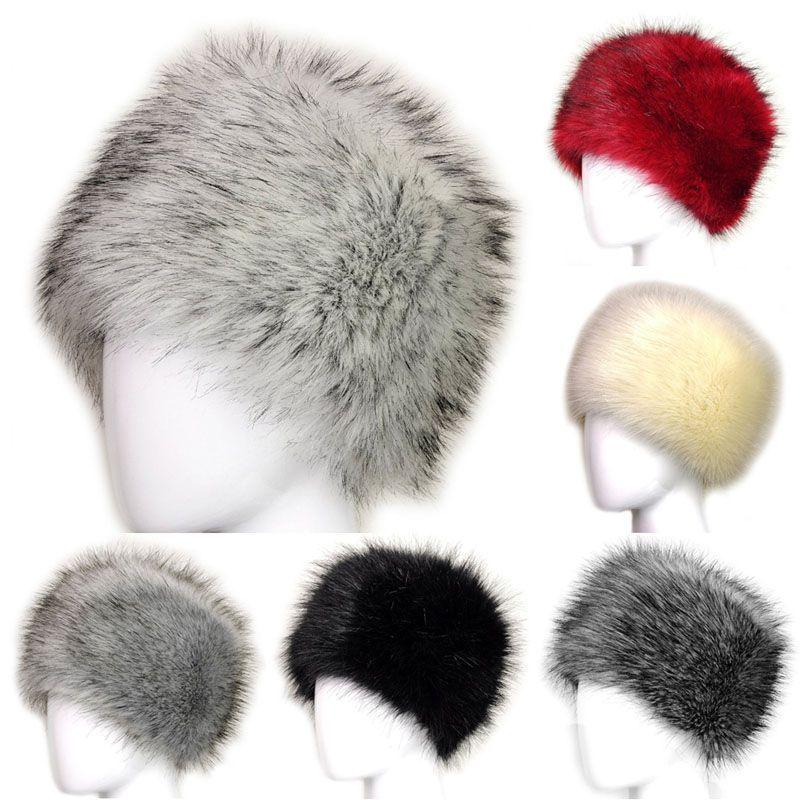Hat Fur Cap Beanie Winter Women Headgear Fox Fur Warm Outwear Russian Style   VFSAccessories  Beanie  Everyday 37e308363