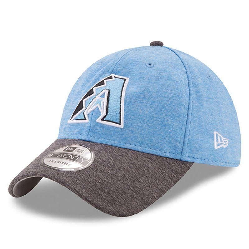 Arizona Diamondbacks New Era 2017 Father s Day 9TWENTY Adjustable Hat -  Heather Blue e8f0194b84c2