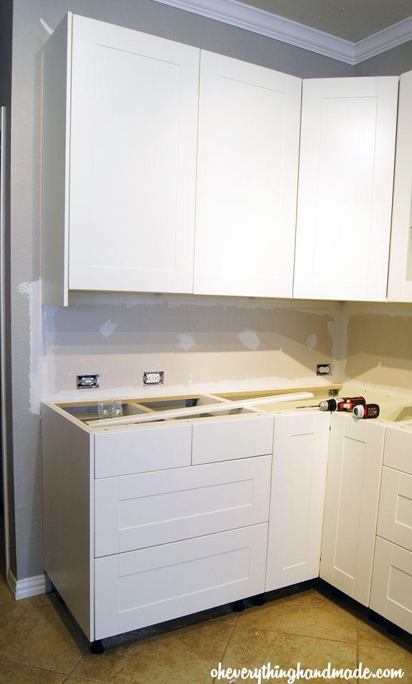 Kitchen // IKEA Kitchen Cabinet Installation   Ikea kitchen ...