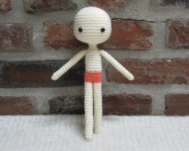 How to crochet basic doll