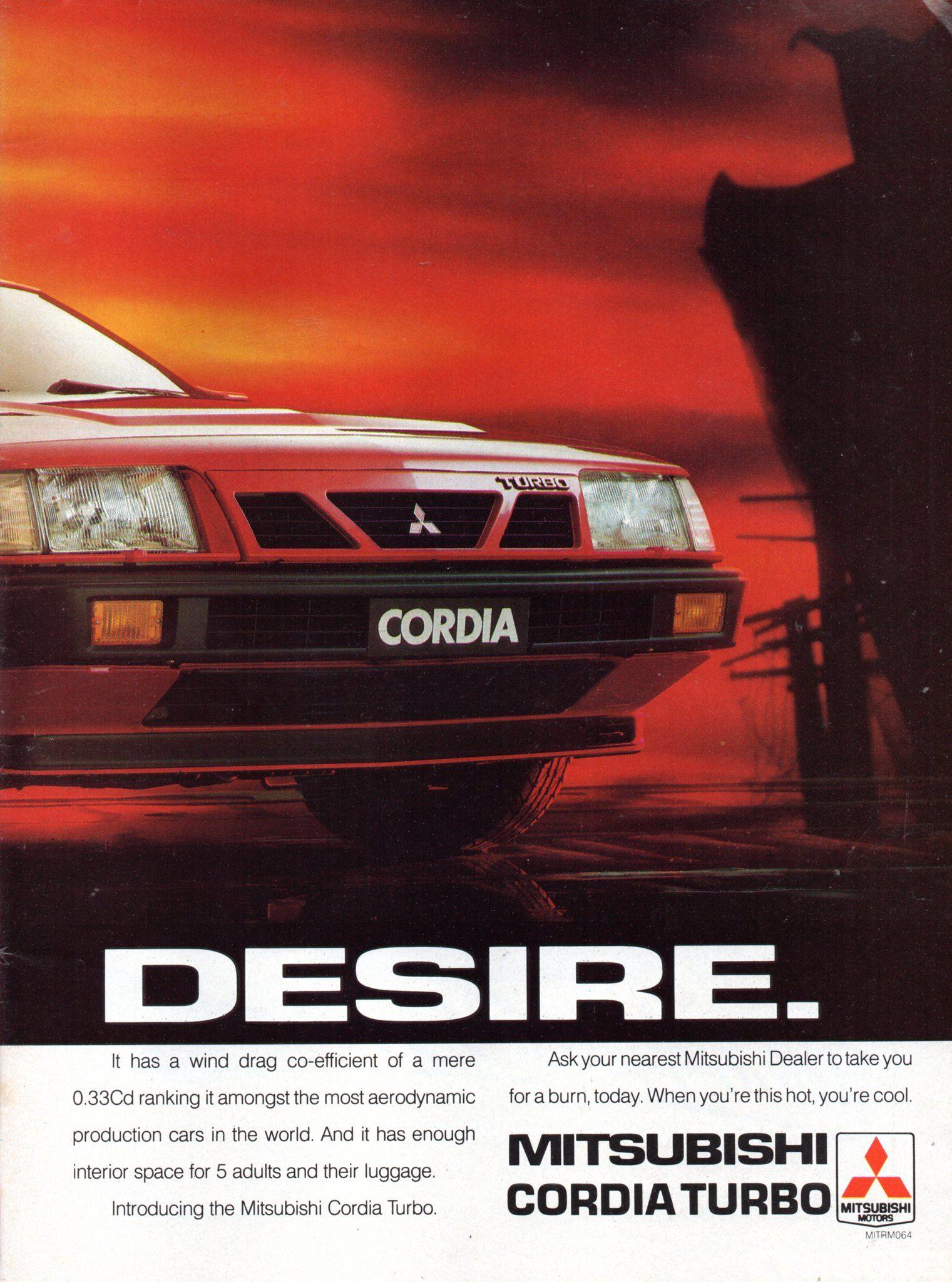 1987 Mitsubishi Cordia Hatchback Turbo Page 2 Aussie