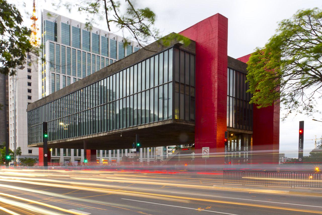 Masp Museu De Arte De Sao Paulo Brazil 1960 By Lina Bo