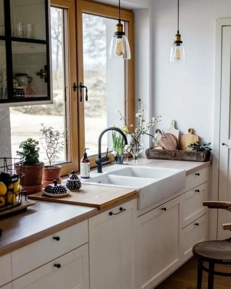36 Inspiring Kitchen Design Ideas From Pinterest In 2021 Kitchen Decor Apartment Home Kitchens Kitchen Inspirations