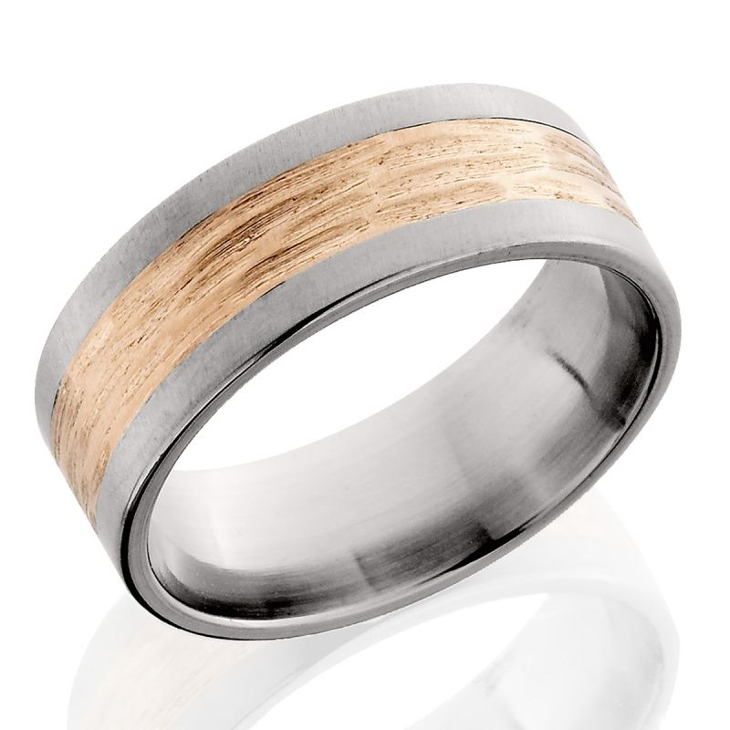 fable designs mens wedding band with rose gold inlay 915 fabledesigns rosegold