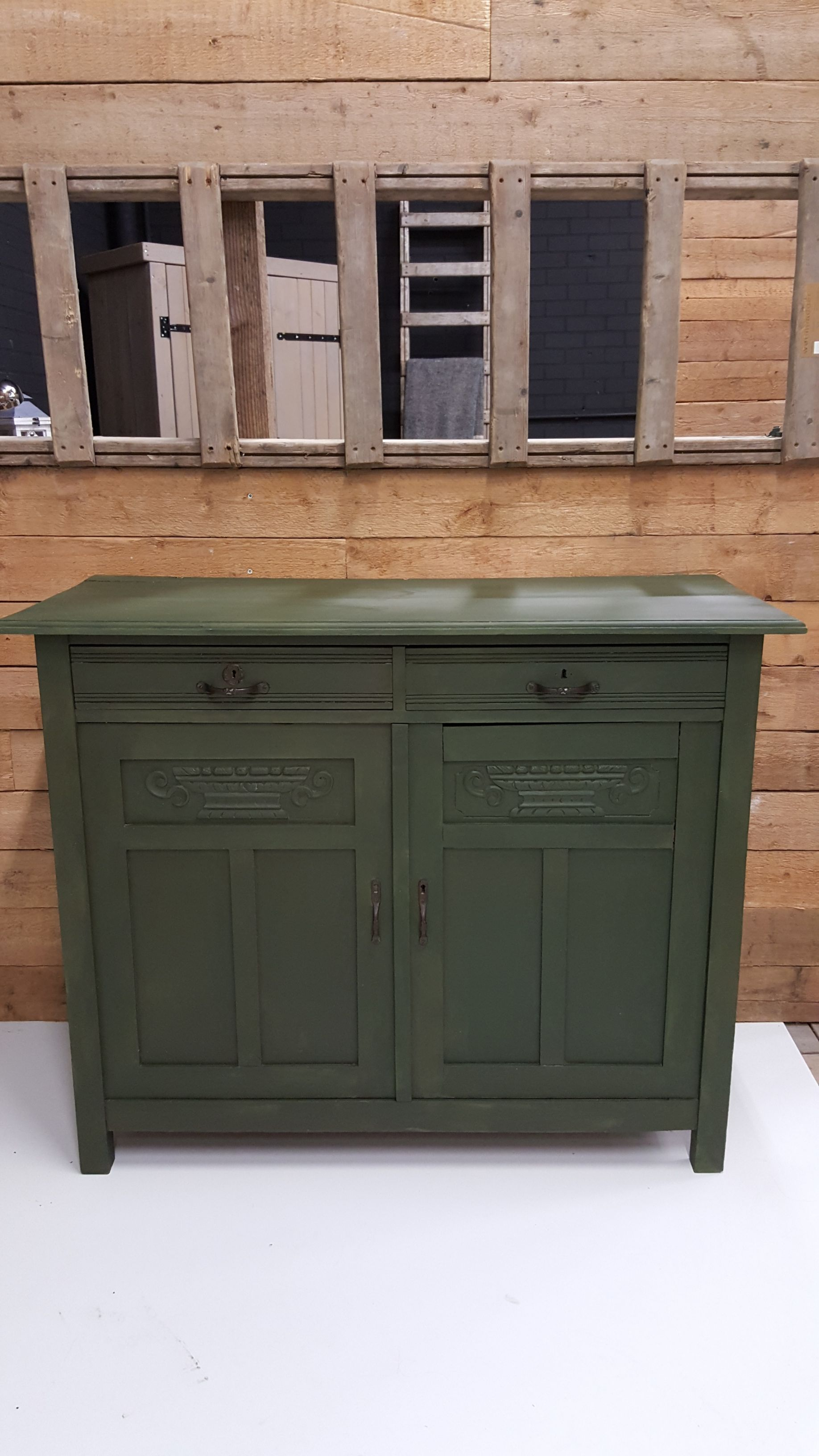 dressoir green