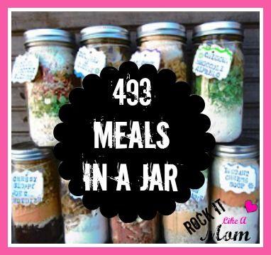 493 meals in a jar soup mix in a jar einkochen mahlzeit einfrieren. Black Bedroom Furniture Sets. Home Design Ideas