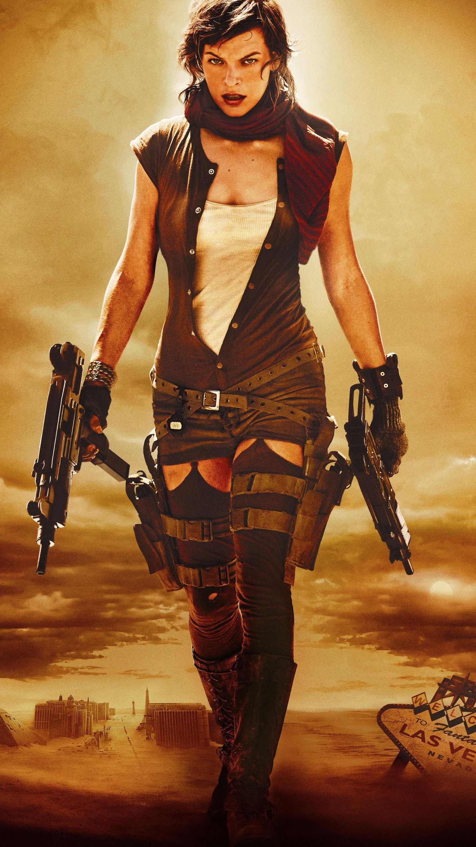 Resident Evil Extinction 2007 Phone Wallpaper With Images