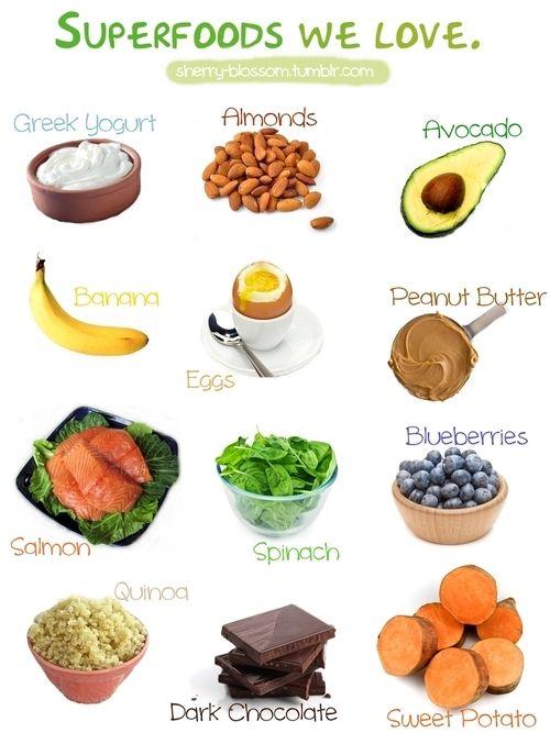 super foods eat healthy and enjoy pinterest