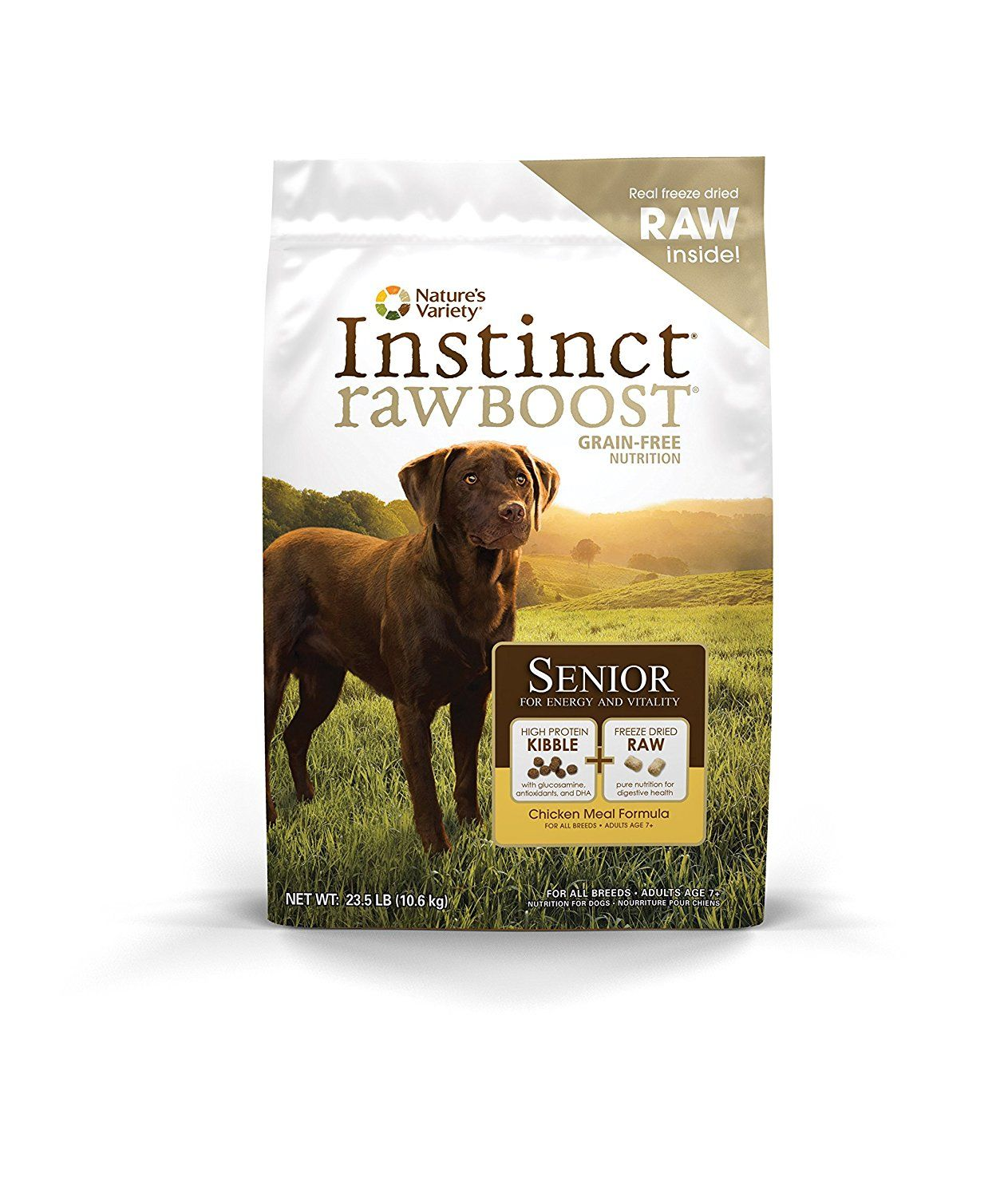 Nature's Variety Instinct Raw Boost Senior Grain Free