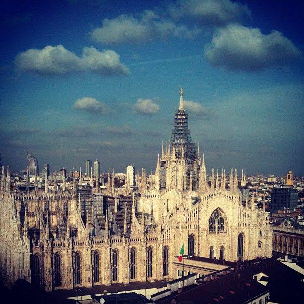 Duomo - view fron Terrazza Martini (Milano) | Architecture ...