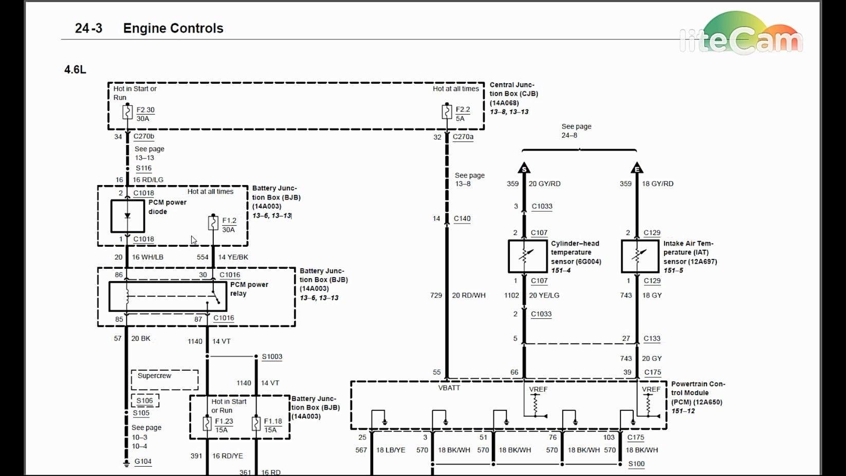 Unique 1997 ford F150 4.6 Spark Plug Wiring Diagram in