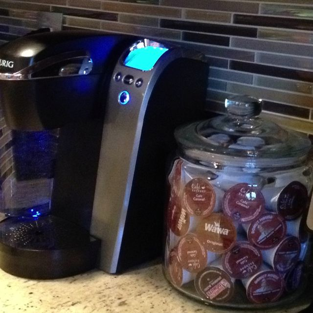 Cheap K Cup Holder Cookie Jar From Ikea Holds About 48 K Cup