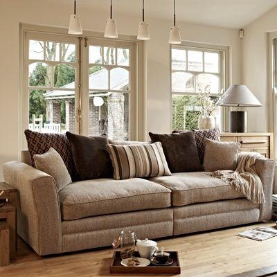 Ainsley   4 Seater Split Sofa (Pillow Back) | Sofas | Living Room Barker