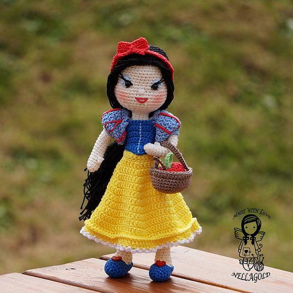 Crochet PATTERN, Crochet doll pattern, Amigurumi doll pattern ...