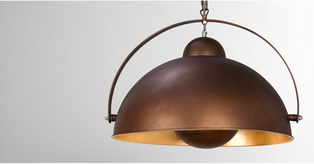 Made Antique Copper Pendant Light Beaufort House In 2019