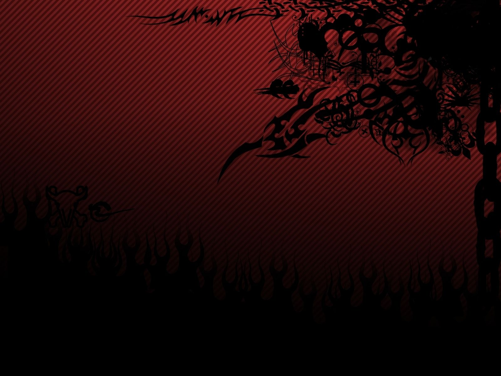Black Red Wallpaper By Vn
