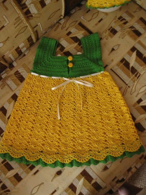 Delicadezas en crochet Gabriela: Vestiditos