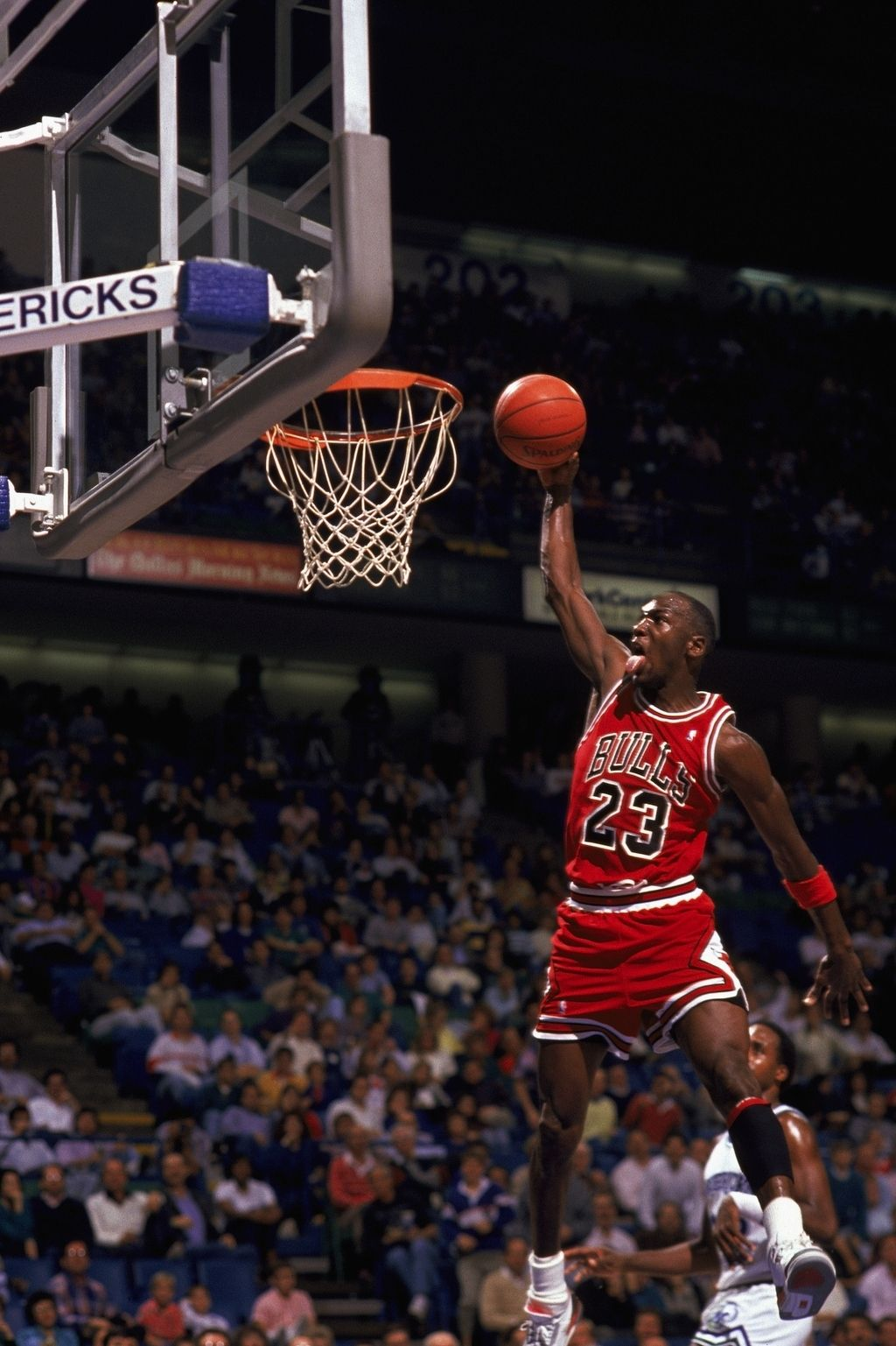 We're number one in Michael Jordans. Michael jordan