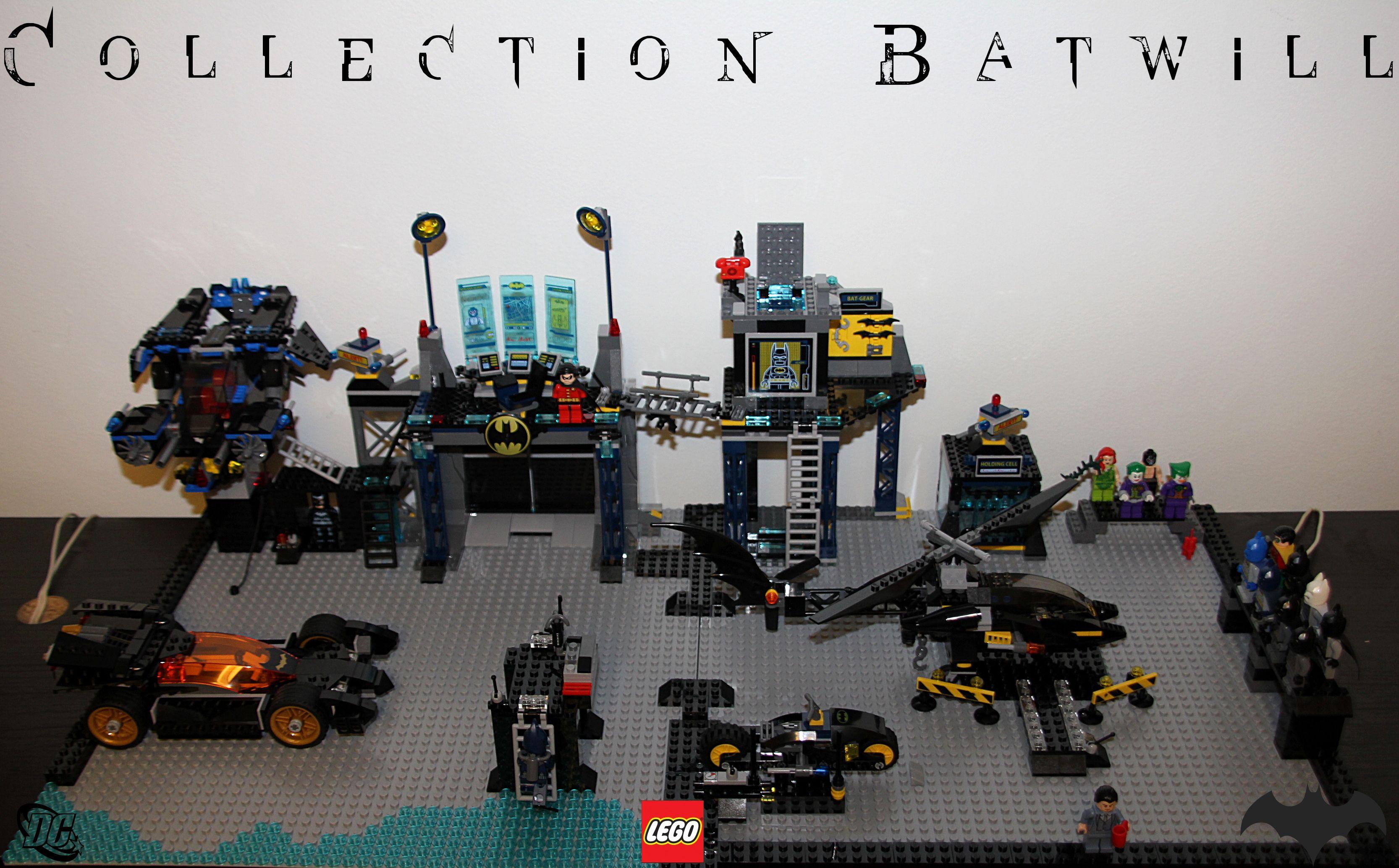 Batman Lego Batcave Custom Lego Pinterest Lego Batman And