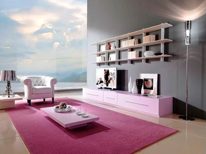 Modern and Minimalis Family Room Interior Design | Ruang Keluarga ...
