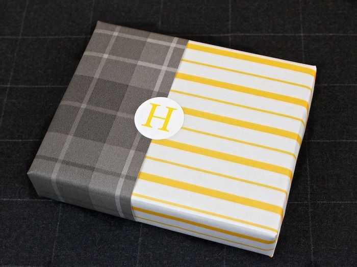 cute wrapping paper idea