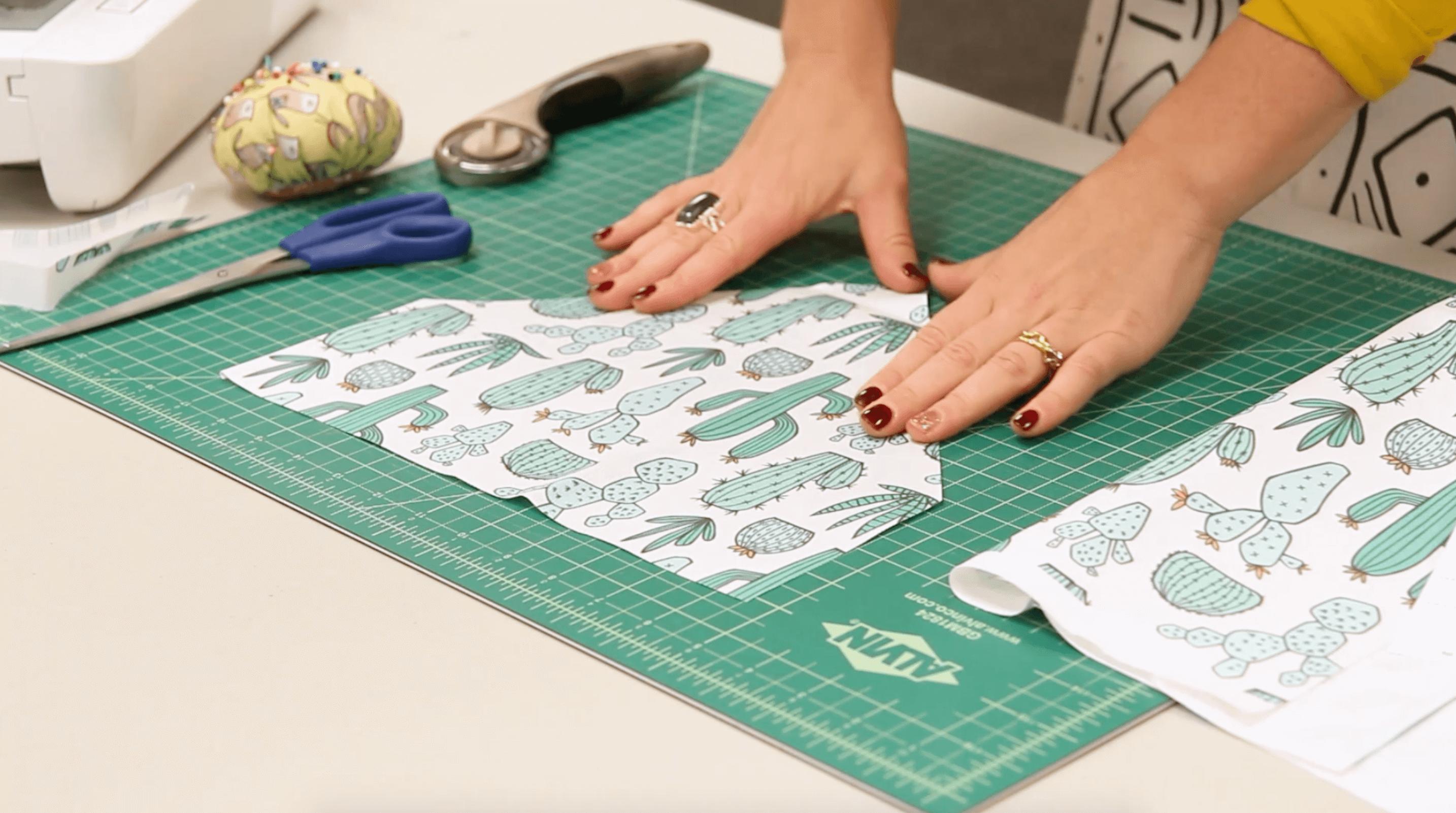 See How to Sew an Easy Pet Bandana Dog bandana pattern