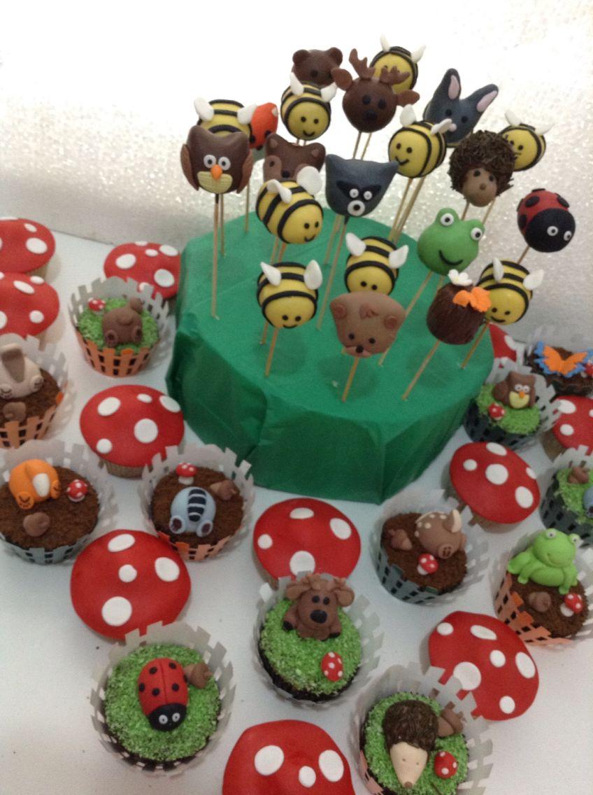 Woodland Cake Pops Series: Bear Cake Pops |Woodland Cake Balls