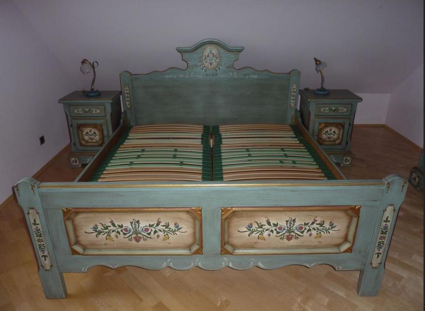 Voglauer Schlafzimmer Bett Mit Einen Schonen Orientalischen Stil