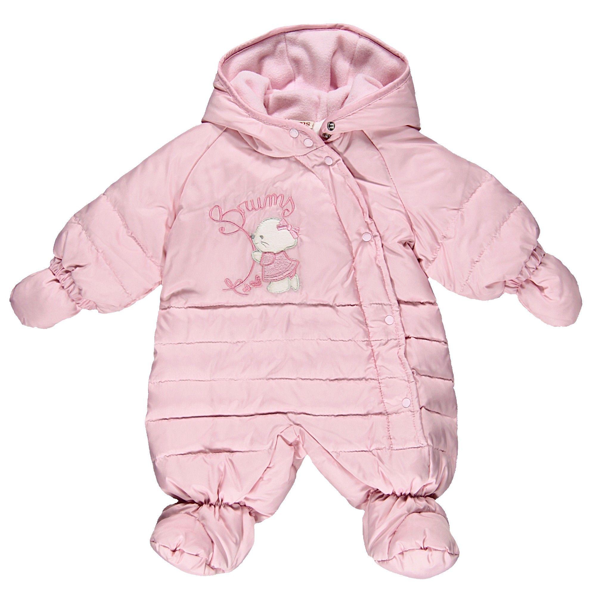 Tutone neve rosa con ricamoDa Neonata | Abbigliamento Store