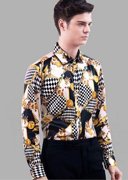9b6b9a6126dba High-grade silk shirts male silkworm silk long sleeve shirt silk satin men s  top business and leisure travelers in hangzhou 3