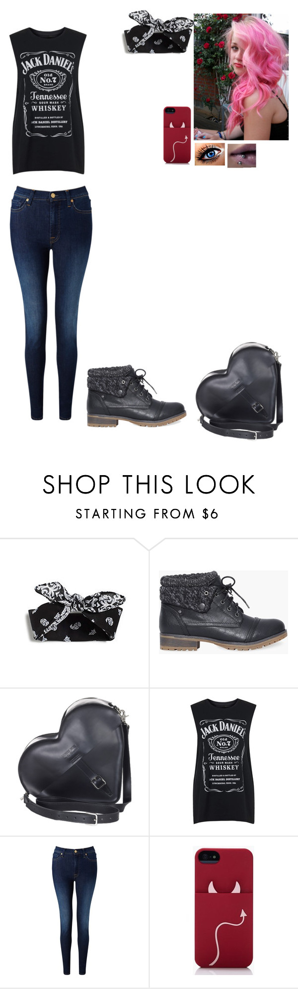 """""""Untitled #279"""" by sapphirejones ❤ liked on Polyvore featuring Dr. Martens, Tee and Cake, 7 For All Mankind, Kate Spade, women's clothing, women's fashion, women, female, woman and misses"""
