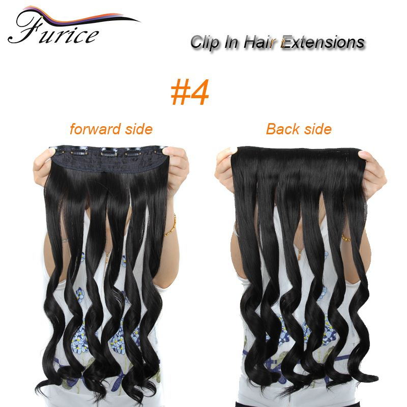 Aliexpress Buy Wholesale One Piece Synthetic Hair Clip Multicolor In Extension Curly