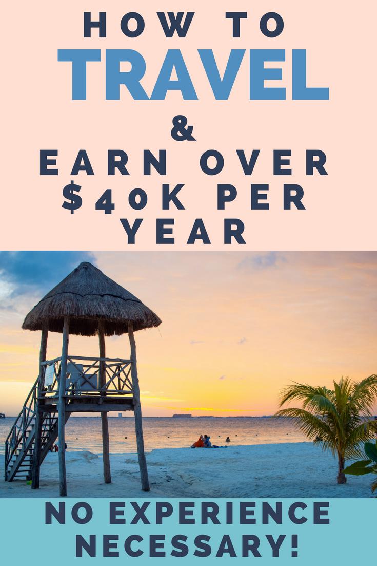 Travel jobs no experience necessary