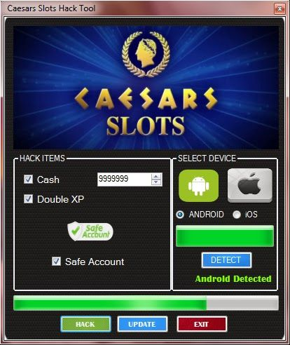 Caesars Slots Android Hack