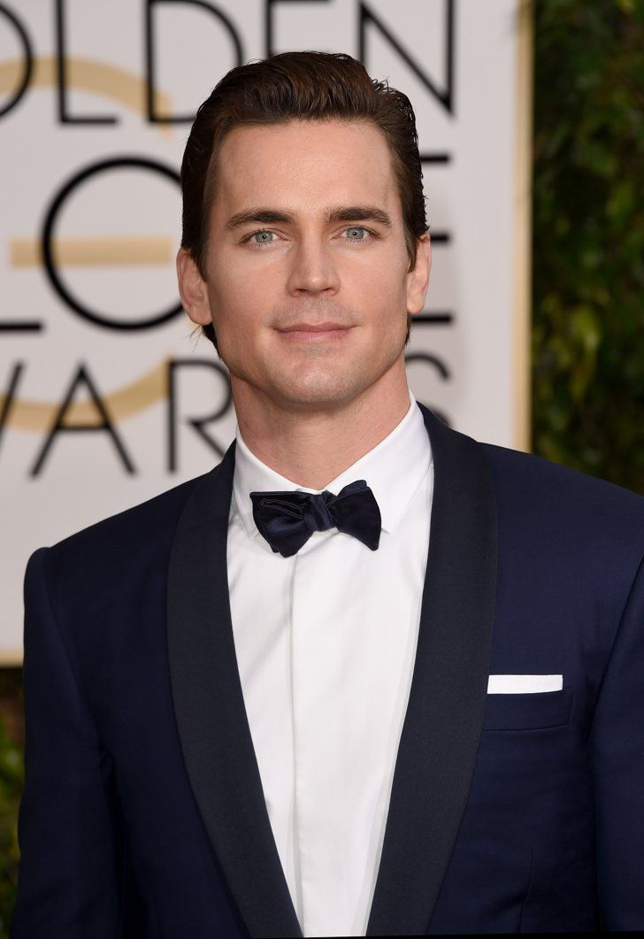 Pin for Later: The Sexiest Snaps of the Hottest Guys at the Golden Globes Matt Bomer