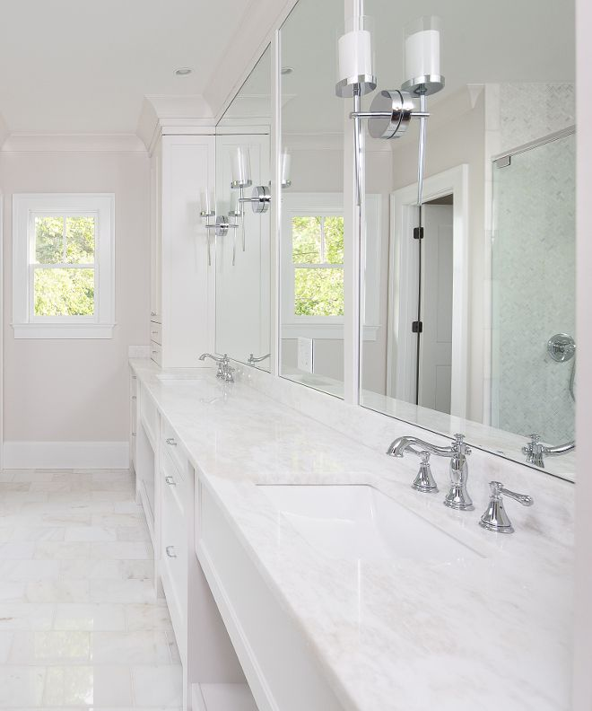 Painted Brick Exterior Home Renovation Home Bunch Interior Design Ideas White Marble Bathrooms Marble Countertops Bathroom White Marble Countertops Bathroom