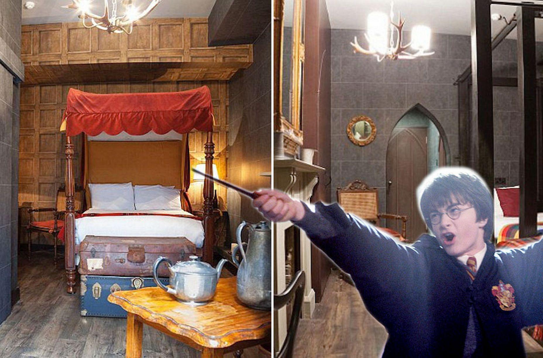Harry Potter Themed Georgian House Hotel London Harry Potter Hotel Harry Potter Cursed Child Hogwarts Themed Room