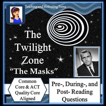 The twilight zone the masks literacy worksheets writing rubric the twilight zone the masks literacy worksheets writing rubric discussion toneelgroepblik Choice Image