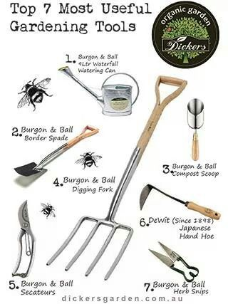 best gardening tools to have in your garden shed