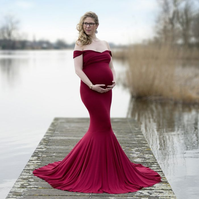 1001 + Ideen für festliche Kleider für Schwangere ...