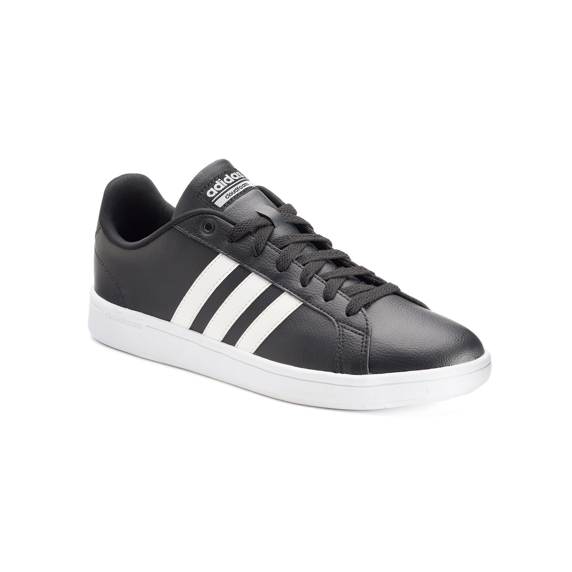 adidas neo cloudfoam advantage mens trainer grey