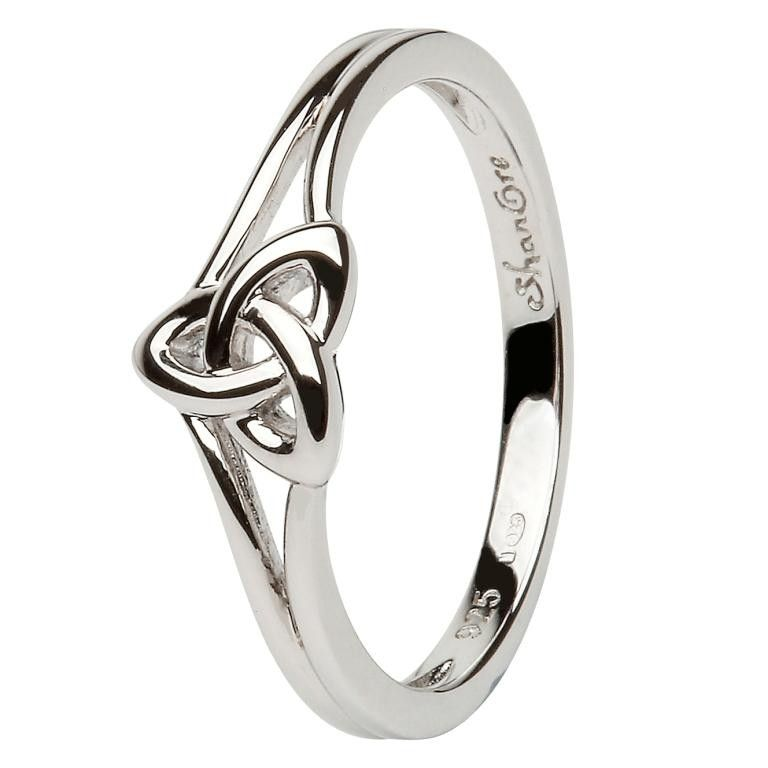 Perfect Promise Ring Anniversary Ring Shanore Celtic Trinity Knot