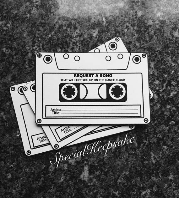 Wedding Song Dance Music Request Cards Games Entertainment