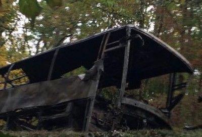 Dramatique: la liste des passagers était dans le bus, elle a brûlé