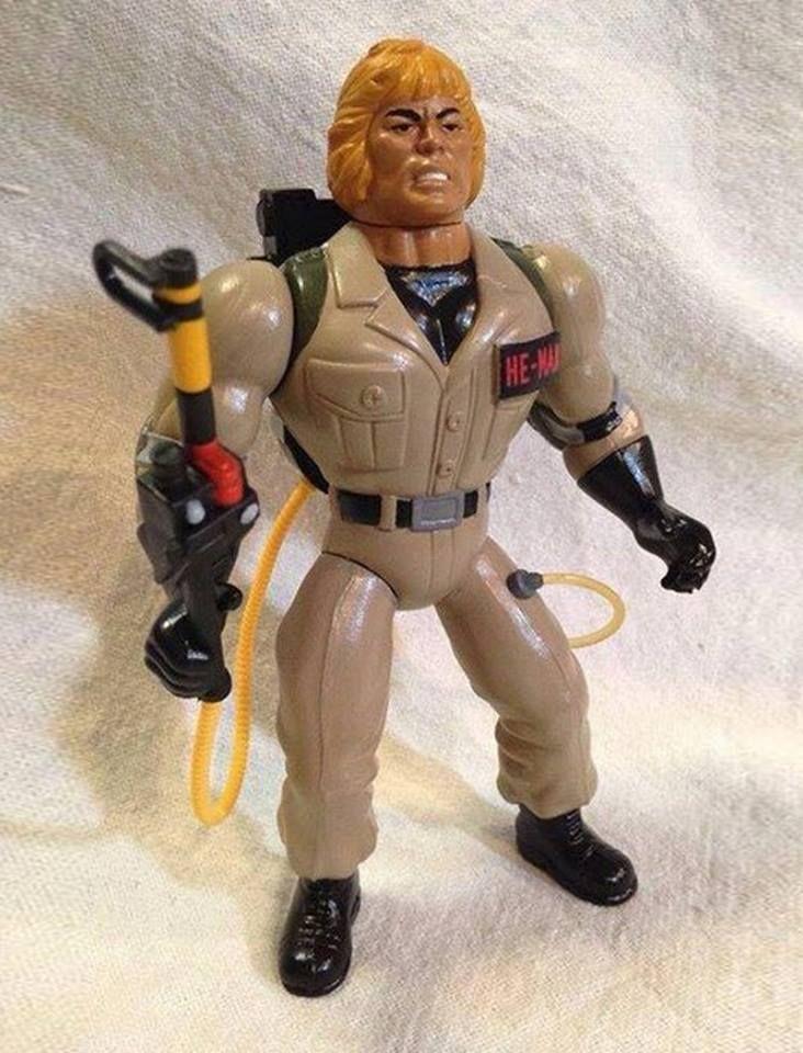 Custom He-Man Ghostbusters Figure