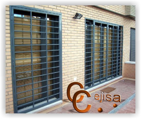 Rejas para puertas o ventanas en modelo horizontal, cancela de dos ...
