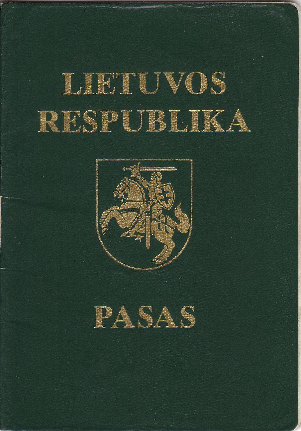 Lithuania LITHUANIA MY TRIP Lithuania, Passport