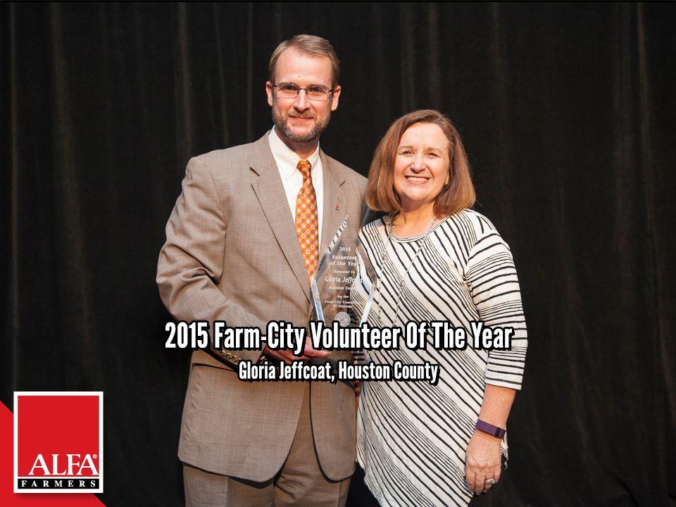Farm City Volunteer Of The Year Gloria Jeffcoat Of Houston County City Farm Houston County City